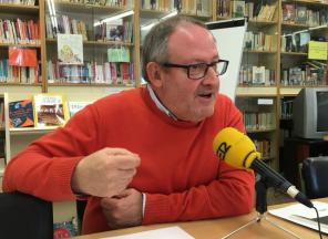 Joan Martori a la ràdio
