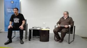 Acte a la Biblioteca Joan Oliver del barri de Sant Antoni. Dia 13 de febrer de 2019, 1