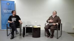 Acte a la Biblioteca Joan Oliver del barri de Sant Antoni. Dia 13 de febrer de 2019, 2