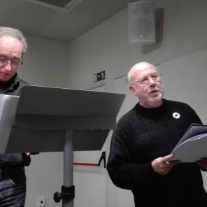 Acte a la Biblioteca Joan Oliver del barri de Sant Antoni. Dia 13 de febrer de 2019, 4