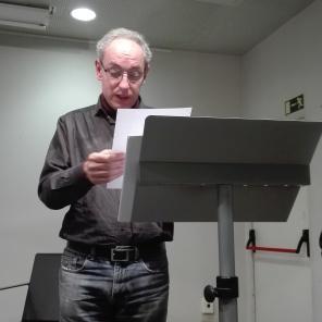 Acte a la Biblioteca Joan Oliver del barri de Sant Antoni. Dia 13 de febrer de 2019, 5
