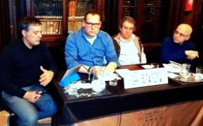 Francesc Foguet i Xavier Diez presenten el llibre de Jaume Ferrer sobre Josep Maria Poblet